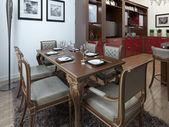 Cozinha em estilo art deco — Fotografia Stock