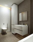 モダンなスタイルのバスルーム — ストック写真