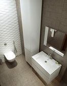 Bathroom in modern style — Stock Photo
