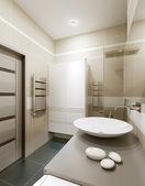 A bathroom in modern style  — Stock Photo