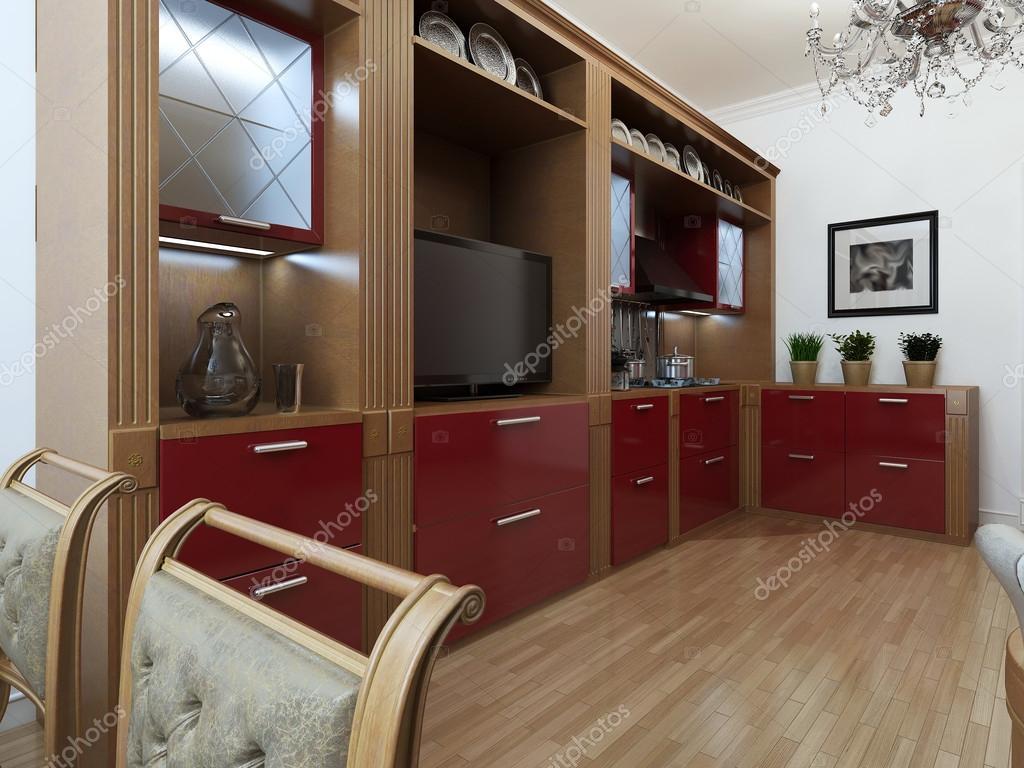 Cozinha em estilo art deco — Fotografias de Stock © kuprin33  #613729 1024 768