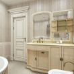 Bathroom classic style — Stock Photo #49469699