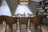 Dining room in a modern style — Stockfoto