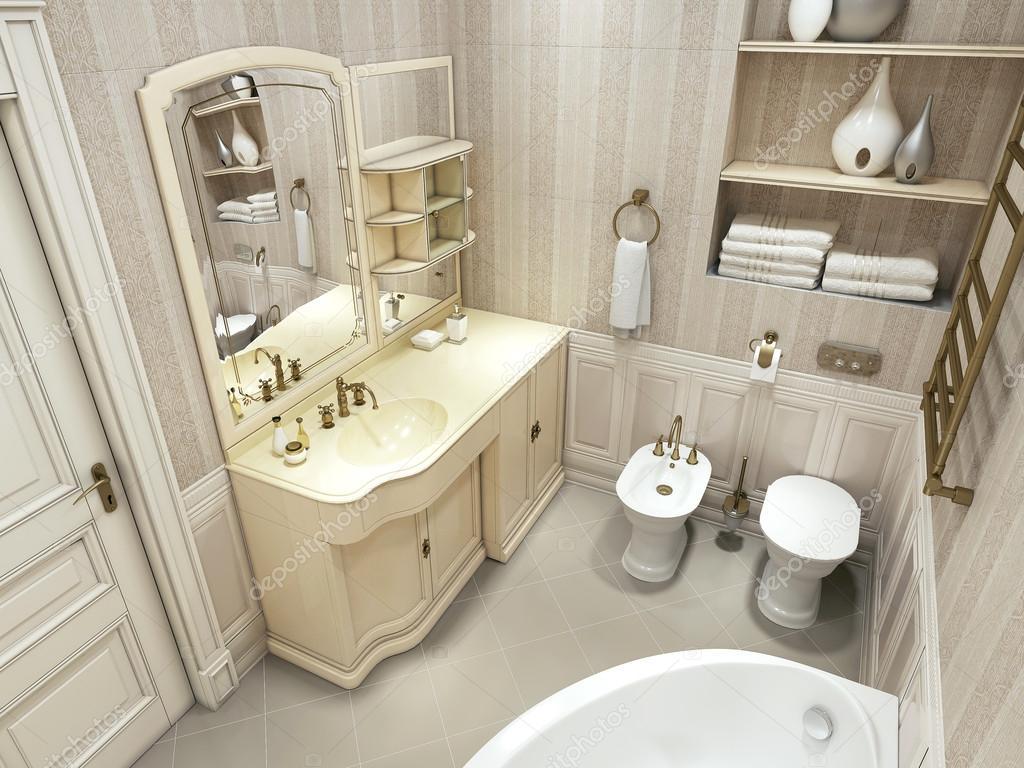 Bagno di lusso, stile classico — Foto Stock © kuprin33 #49469715