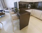 Kitchen interior, modern style — Stockfoto