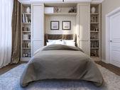 Dormitorio de estilo moderno — Foto de Stock