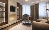 Living room in a modern style  — ストック写真