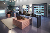 Interior of a modern store — Stock Photo