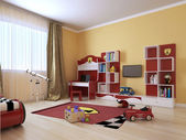 Children's room in a modern style — Stock Photo
