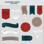Big set of labels and badges. — Stock Vector