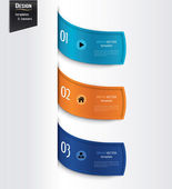 Set of colorful banners, bookmarks, labels, website layouts. Modern design template. — Stock Vector