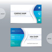 Vector abstract business cards.  — Vector de stock