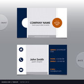 Vector abstract business card.  — Vector de stock