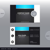 Vector abstract business card.  — Stock Vector