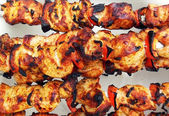 Traditional shish kebab — Stock Photo