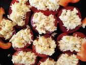 トマト、チーズ、ニンニク — ストック写真
