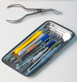Herramientas dentales — Foto de Stock