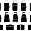 Luggage — Stockvektor #34680965