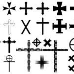 Cross illustration — Stock Vector