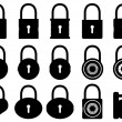 Locks — Stock Vector
