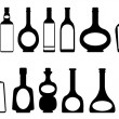 Bottles — Stock Vector