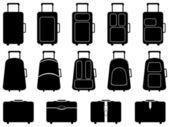 Luggage — Stock Vector