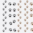 Dog prints — Stock Vector