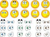 Smiley eyes — Stok Vektör