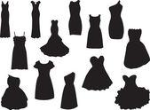 Dresses — Stock Vector