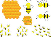 Bumblebees — Stock Vector