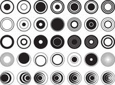 Círculos de design — Vetorial Stock