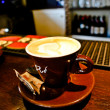Cup of Cappuccino Coffee — Stock Photo #34641909