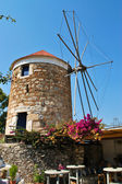 Windmills of Kos Town — Stock Photo