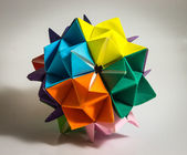 Geometric origami — Stock Photo