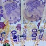 Moneda Argentina — Stock Photo #34183633