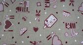 Funny tablecloth — Stock Photo