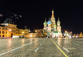 St basil night time — Stock Photo