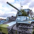 Cold war russian tank — Stockfoto