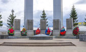 Monument for the victims of WWII.Ekaterinburg — Stock Photo