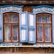 Typical russian house — Stock Photo
