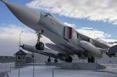 Mig 31 supersonic interceptor — Stock Photo