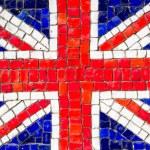 Mosaic of english flag — Stock Photo #36287781