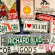 Miami souvenirs — Stock Photo