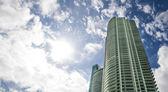 Miami architecture — Stock Photo