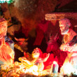 Christmas crib — Stock Photo