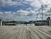 Miami dock — Stock Photo