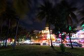 Ocean drive, Miami — Stock Photo