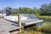 Airboat at the Everglades,Florida — Stock Photo