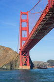 Golden Gate in San Francisco — Stock Photo