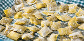 Handmade ravioli — Stock Photo